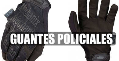Guantes policiales