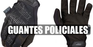 Guantes policiales